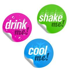 Label stickers vector
