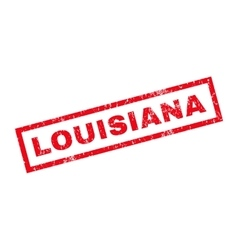Louisiana Rubber Stamp vector