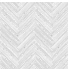 White Herringbone Parquet Floor Seamless Pattern vector