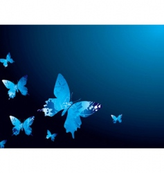 cool butterfly vector image