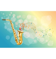 A woodwind instrument vector
