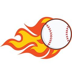 Cartoon baseball design elements vector