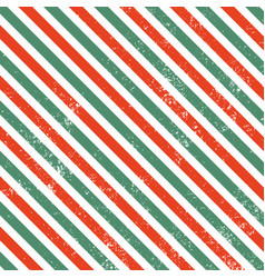 christmas line patter with grunge vector image