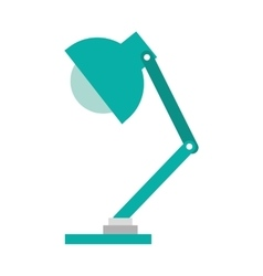 office lamp isolated icon design vector image