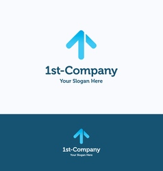One 1 first logo vector