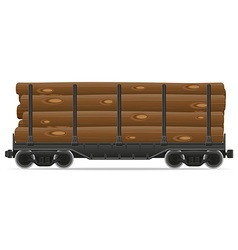 railway carriage 08a vector image