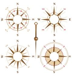 Compass frames vector