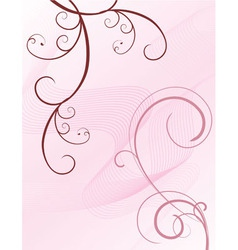 pink brown Converted vector image