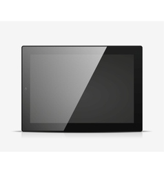 Tablet PC icon vector image vector image