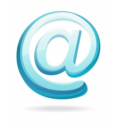 email sign vector image vector image