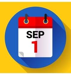 Calendar icon Flat 20 vector image