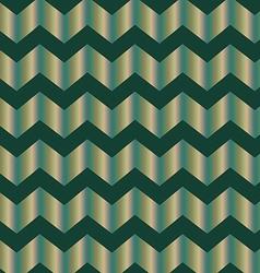Chevron green foil vector