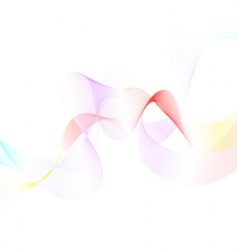 colourful lines vector image