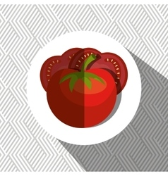 fresh vegetables design vector image