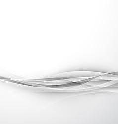Futuristic elegant hi-tech swoosh wave background vector