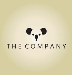 Panda logo ideas design on vector