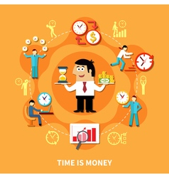 Time is money composition vector