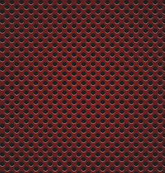 red circle perforated carbon speaker grill texture vector image