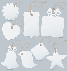 Set of label tag vector image vector image