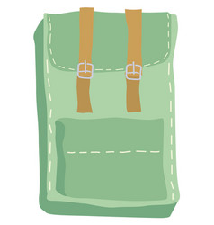Backpack for everyday vector