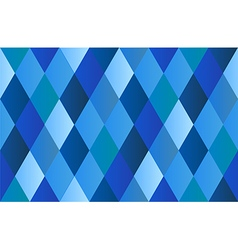 Blue Diamond Polygon Background vector image