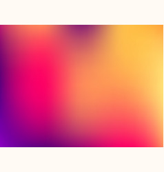 Blurred mesh gradient background colorful smooth vector