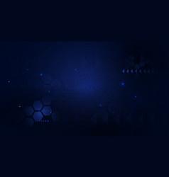 Dark blue abstract geometric futuristic digital vector