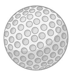 Golf ball icon cartoon style vector