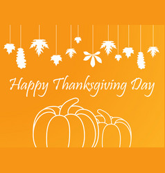 Happy thanksgiving day celebrations background vector