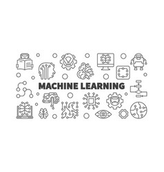 Machine learning horizontal in vector
