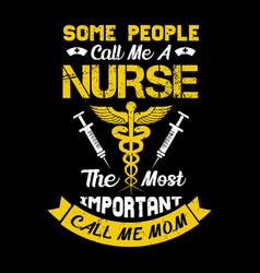 nurse t shirt design vintage nurse emblems vector image