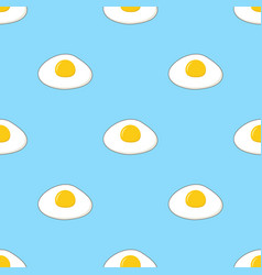 pattern with egg vector image