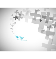 Plus sign background vector
