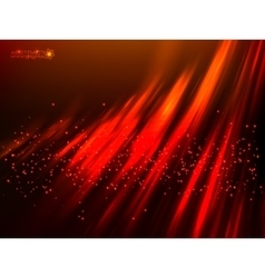 Red aurora polar light abstract background vector