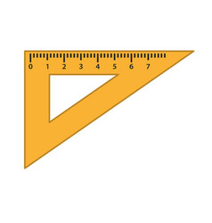 ruler icon vector image
