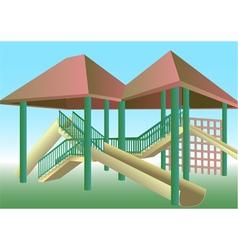 School playground vector