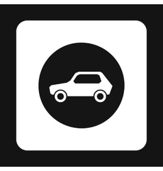 Sign cars icon simple style vector image