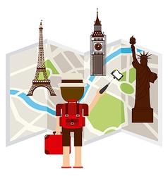 Travel concept vector