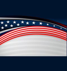 Usa flag backgrounds design vector