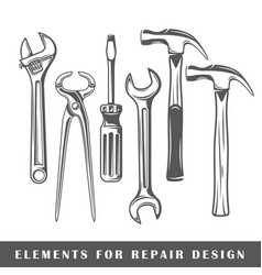 work tool vector image
