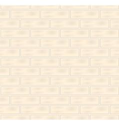 White bricks seamless texture vector image