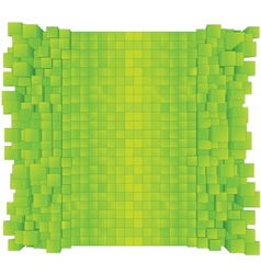 Green Abstract Background Ready for Design vector image vector image
