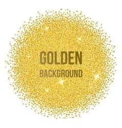 Golden dots vector image