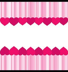 Creative valentine greeting banner design vector