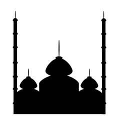 Mosque icon vector image vector image