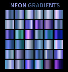 neon blue fluorescent aquamarine metallic foil vector image