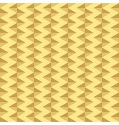 Gold geometric seamless pattern vector image