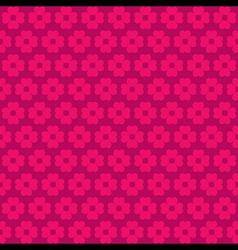 pink flora pattern background vector image vector image