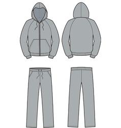 Smock and pants vector image