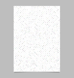 Abstract dot pattern page template background vector